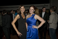 Stacey DeFore, Chairwoman of the Colorado Space Business Roundtable, with Brittany Davies, CABA Chairwoman