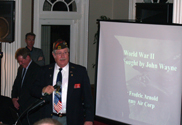 Past State VFW Commander Ron Davies
